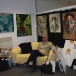 von Kunst umarmt! Prof. Jörg Boström in der GOA