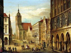 Prinzipalmarkt_1863_August_Hilbig
