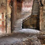 Alte Brandruine der Beelitzer Heilstätten - Jahr 2008